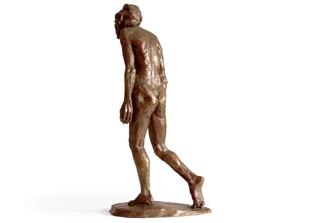 Leslie Stefanson - Bronze: Old Woman