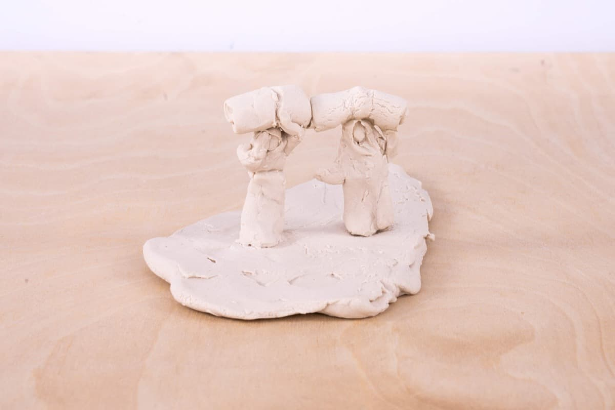 Leslie Stefanson - Refugee: Syria Porcelain Sketches